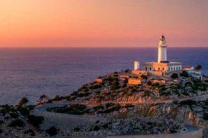 Zonsondergang-Mallorca